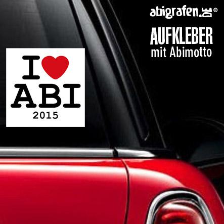 Sticker mit Abispruch Sticker Aufkleber mit Abimotto bedrucken
