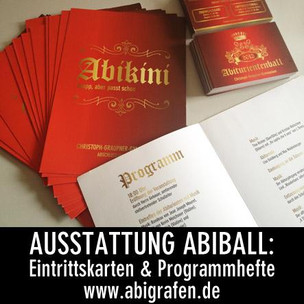 Programmhefte und Eintrittskarten für Abiball Abiball Programmhefte und Eintrittskarten für das Christoph-Graupner-Gymnasium in Kirchberg