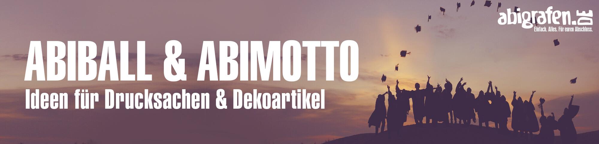 Abiball mit Abilogo Dekoration; Beispiele und Ideen für das Abimotto auf dem Abiball