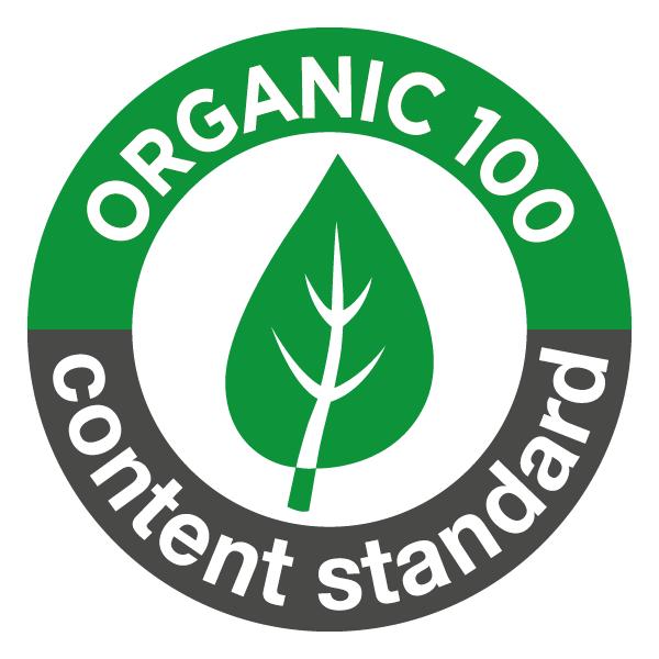 umweltfreundlicher Textildruck - Textilsiegel Organic Content Standard 100