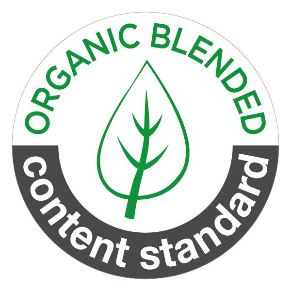 umweltfreundlicher Textildruck - Textilsiegel Organic Content Standard blended