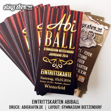 Eintrittskarten Abiball drucken - gut und günstig beim Profi für Abschlussklassen und Abiturienten: abigrafen.de