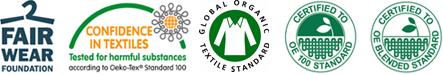 Fairtrade Abishirts mit individuellem Abimotto bedrucken