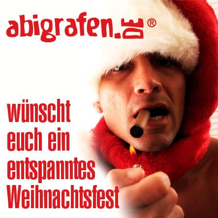 das abigrafen.de-Team wünscht frohe Weihnachten