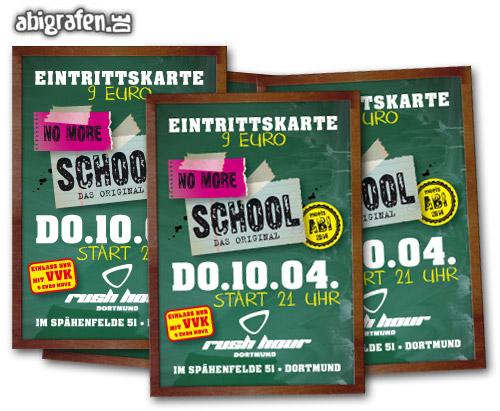 Gewinnspiel Verlosung Abiparty: 2 x 2 Eintrittskarten für die no more school Party Dortmund zu gewinnen