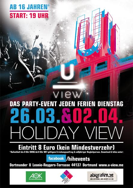 Schulparty Dortmund. Holiday View