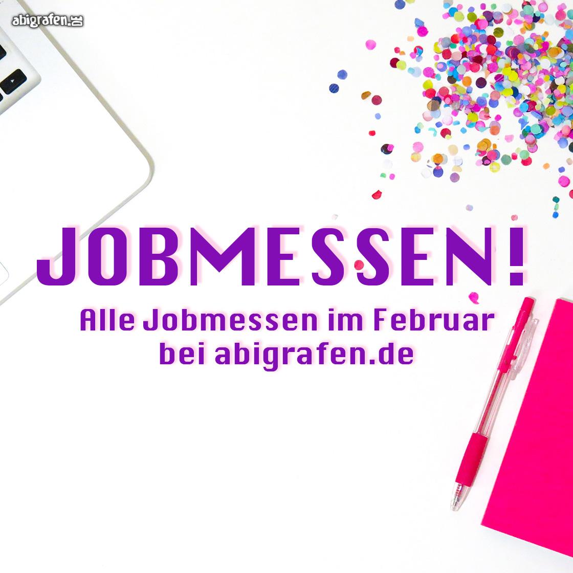 Die aktuellen Jobmessen im Februar hier und jetzt bei abigrafen.de