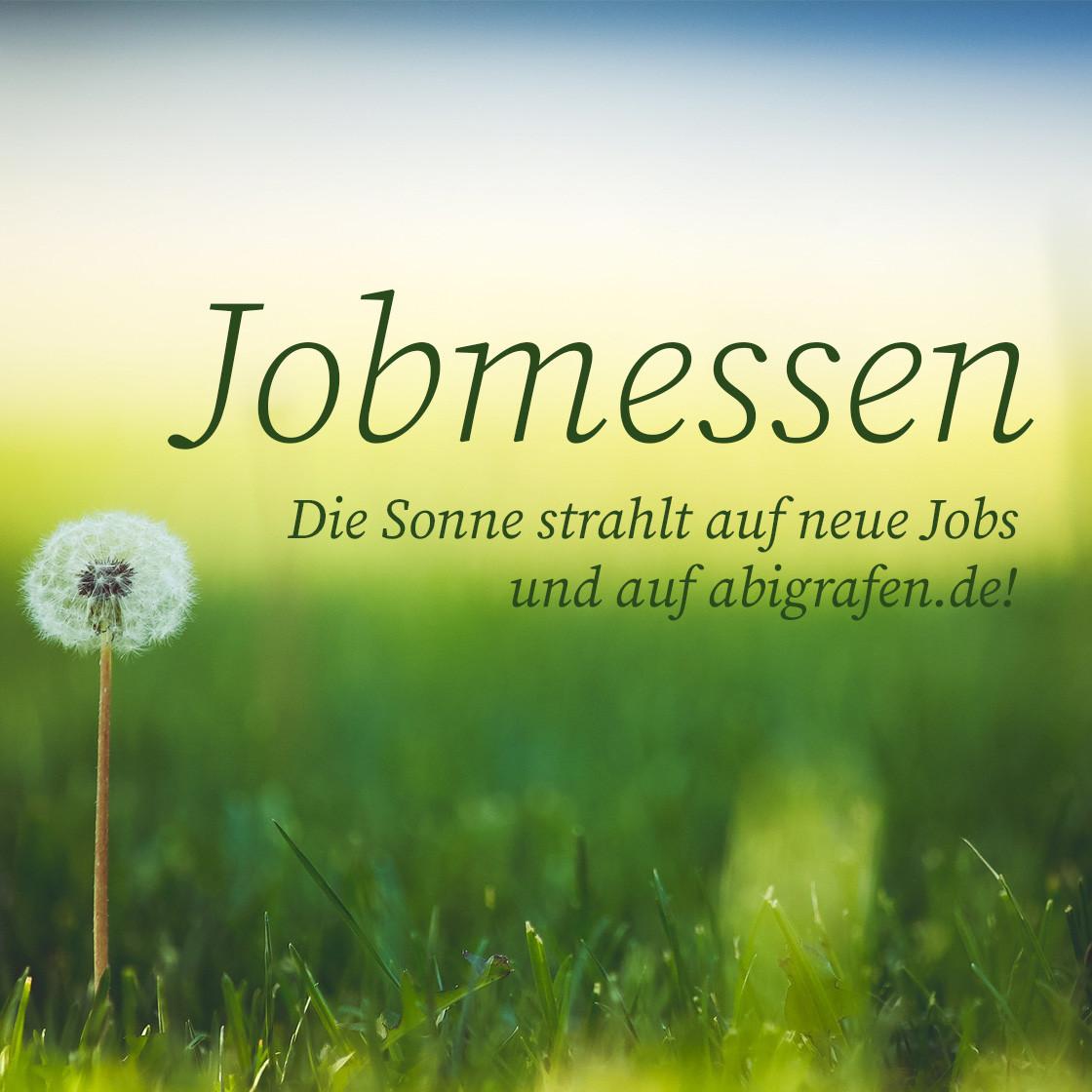 Die aktuellen Jobmessen im Juni hier und jetzt bei abigrafen.de