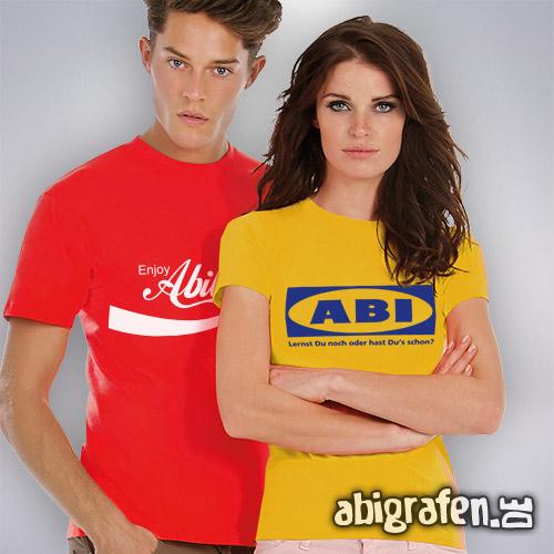 Abishop: Günstige Abishirts mit Abimotto im Siebdruck
