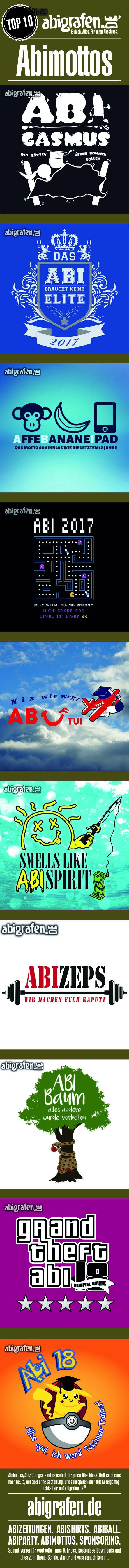 Top 10 der Abimottos dieser Woche