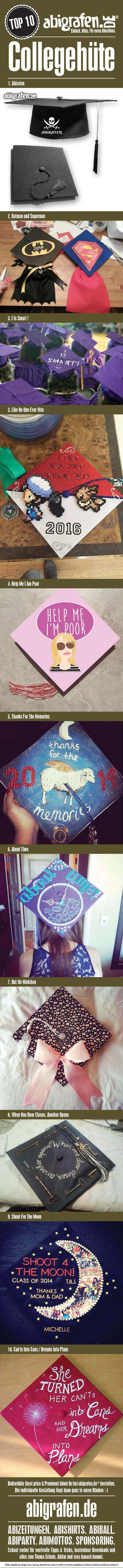 #doktorhuete #studentenhuete #college #caps #Schuelerhut #Graduation #Cap #Senior #Cap #Abschlusshut #Hut #Abitur