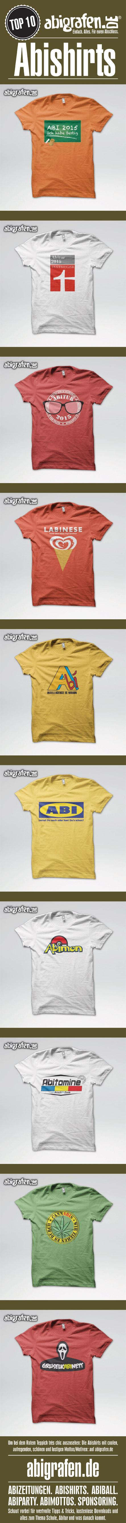 #Abishirts #Tshirts #Abschlussshirts #Abishirt #T-Shirt #Abikleidung #Abifashion #abigrafentop10