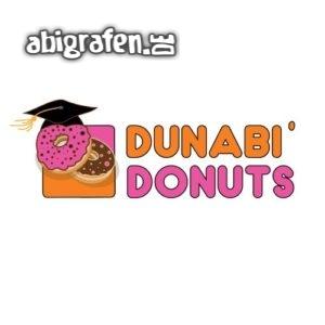 DUNABI DONUTS Abi Motto / Abisprüche Entwurf von abigrafen.de®