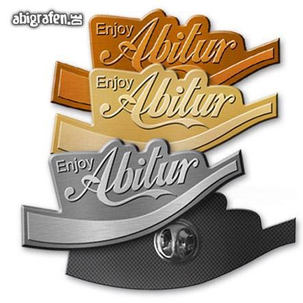 Abishop: Pins bedrucken mit Abi Motto (Reliefpins)