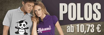 Top Angebot bei abigrafen.de® - 100 Abi-Poloshirts