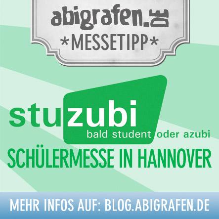 Schülermesse Hannover: stuzubi für angehende Azubis / Studenten
