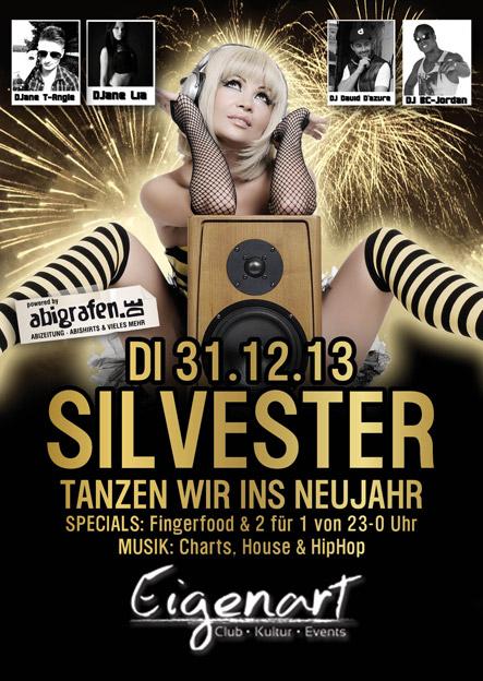 Schülerparty Lüdenscheid: die grosse Silvester Party 2013 / 2014 mit Top Discjockeys