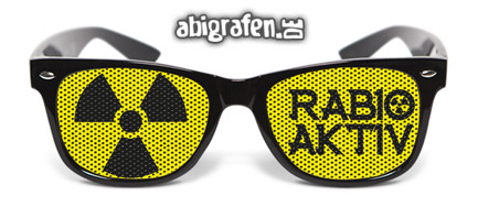Partybrille / Sonnenbrille / Abibrille bedrucken mit Abimotto / Abisprüchen / individuellen Motiven
