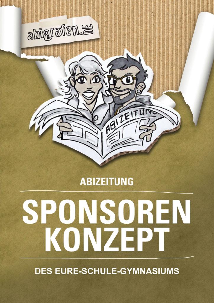 Konzept & Anschreiben für Sponsorensuche Abizeitung/Abibuch (beschreibbare Vorlage)