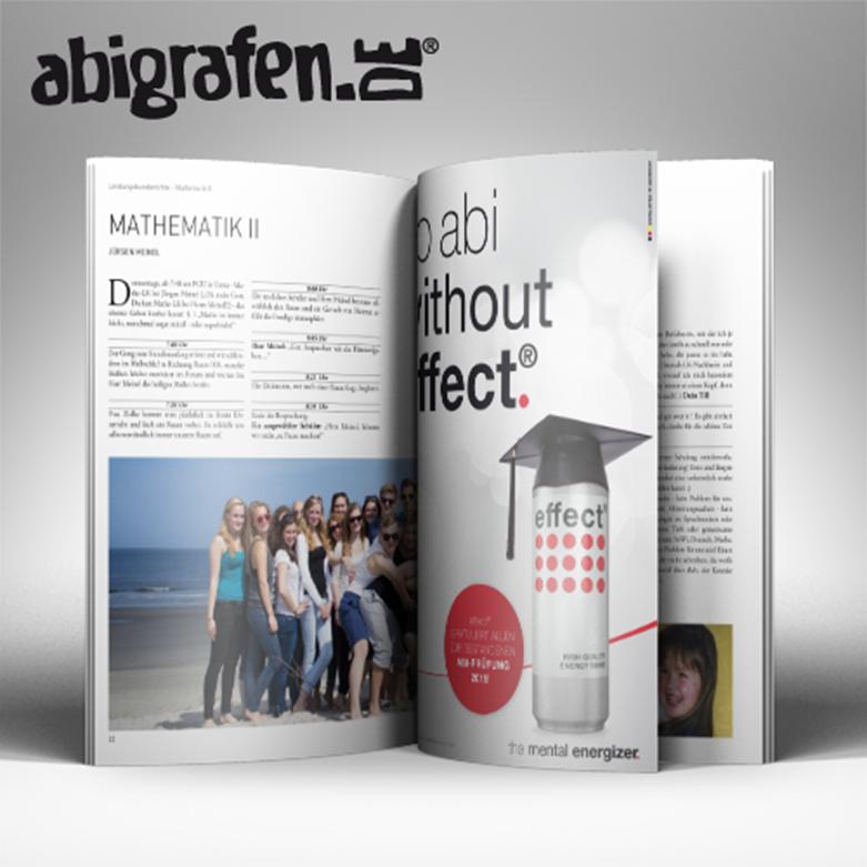 Sponsorenanzeige Abizeitung effect