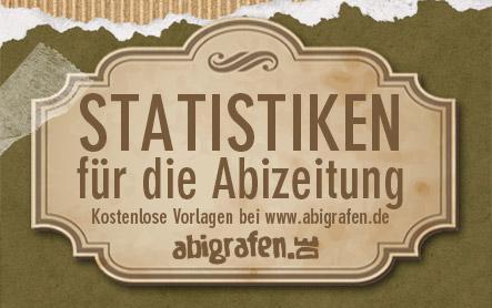 Statistiken Abizeitung - kostenlose Vorlagen für Stufenwahlen