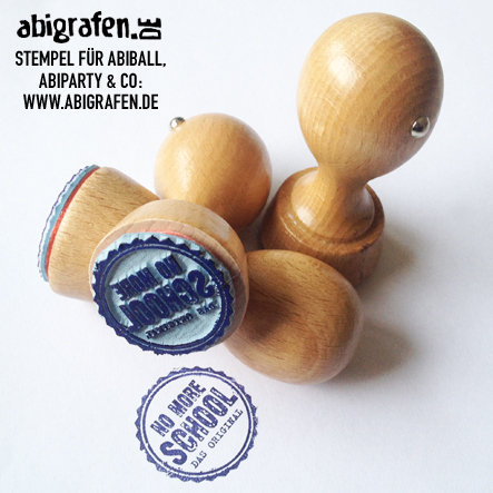 Stempel Abiparty / Abiball individuell bedruckt mit Abimotto