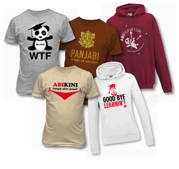t-shirts bedrucken bei abigrafen.de
