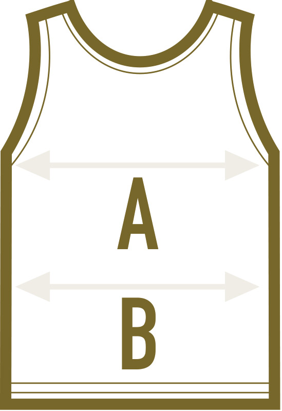 Achselshirt, Tanktop, Top Maße – abigrafen.de