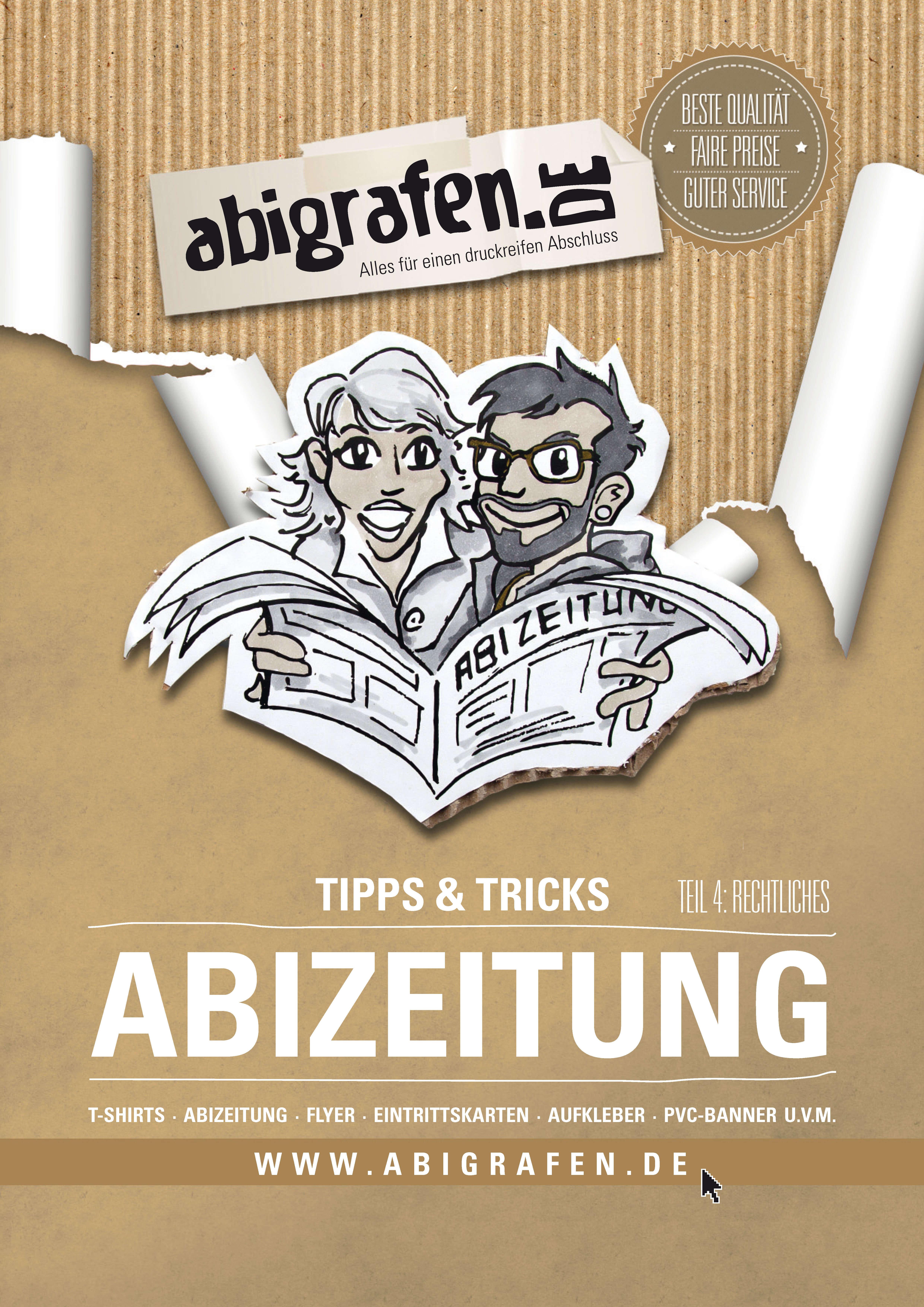 abigrafen.de - Tipps zu rechtlichen Aspekten für Abizeitung/Abibuch