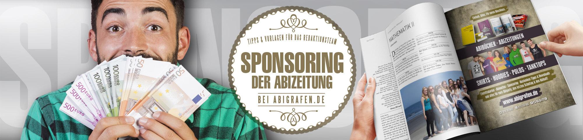 Tipps für das Abibuch-Komitee/Redaktionsteam/Sponsoringteam: Durch Sponsoring mit Werbeanzeigen Druckkosten reduzieren