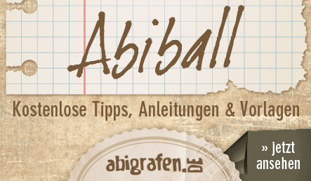 abigrafen.de - kostenlose Tipps & Tricks für den Abiball