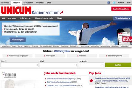 abigrafen.de Linktipp: UNICUM Karrierezentrum. Nebenjob, Praktika, Stellenangebote für Berufseinsteiger. Kostenlos!