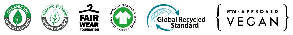 nachhaltiger Textildruck: Zertifizierungen Abishirts/Abschlussshirts