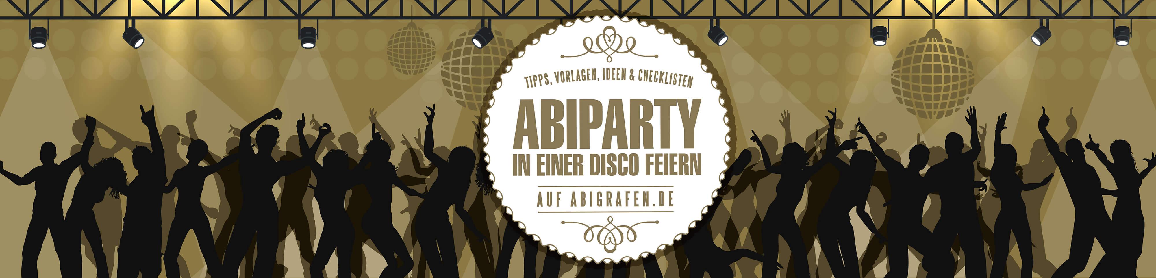 Tipps, Anleitungen & Downloads für das Vofi-Team: Abiparty in der Discothek vorbereiten & planen