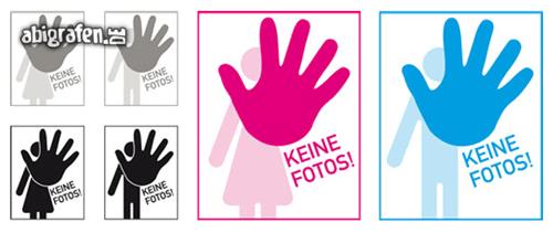 Kostenlose Vorlage für Abizeitung/Abibuch (Platzhalter Steckbrief – Hand)