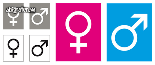 Kostenlose Vorlage für Abizeitung/Abibuch (Platzhalter Steckbrief – Symbole)