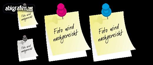 Kostenlose Vorlage für Abizeitung/Abibuch (Platzhalter Steckbrief – Postit)