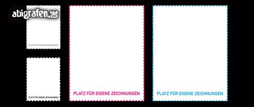 Kostenlose Vorlage für Abizeitung/Abibuch (Platzhalter Steckbrief – Notiz)