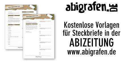 Vorlagen Steckbriefe Abizeitung