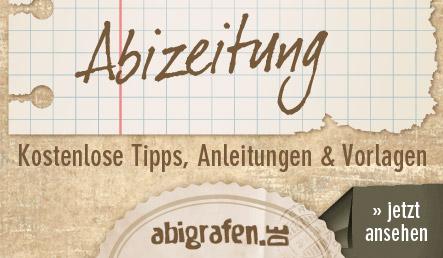 abigrafen.de - kostenlose Tipps & Tricks für die Abizeitung / Abibuch