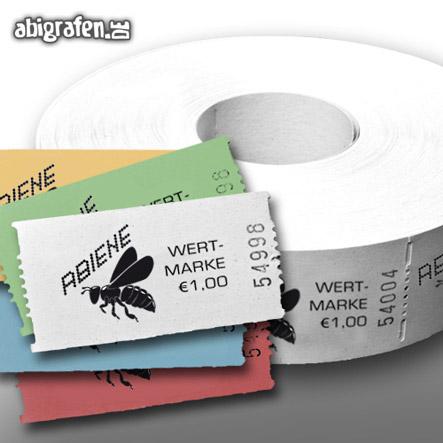 Drucksachen für die Abi Party: individuelle Wertmarken