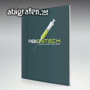ABIontech Abi Motto / Abizeitung Cover Entwurf von abigrafen.de®