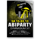 Abitur Party-Flyer